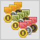 Mini Medal Icon's - GraphicRiver Item for Sale