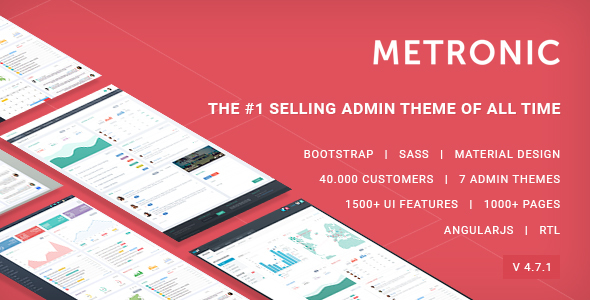 Metronic - Responsive Admin Dashboard Template by keenthemes