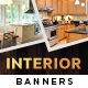 Interior Design HTML5 Banners - GWD - 7 Sizes (NF-CC-140)