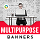 Multipurpose HTML5 Banners - GWD - 7 Sizes(NF-CC-145)
