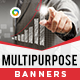 HTML5 Multi Purpose Banners - GWD - 7 Sizes(NF-CC-146)