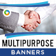 Multi Purpose HTML5 Banners - GWD - 7 Sizes(NF-CC-148)