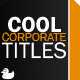 Cool Corporate Titles
