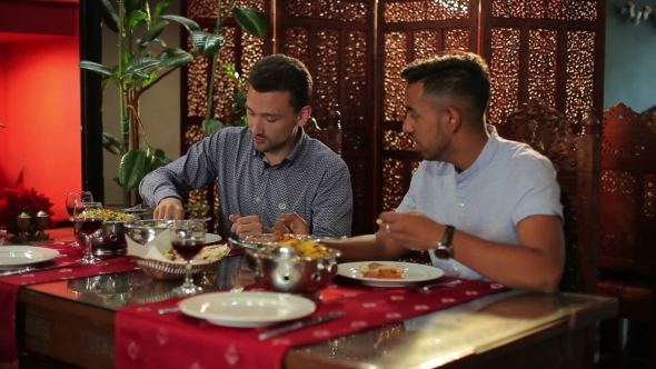 Download Men Are Eating In The Indian Restaurant nulled download