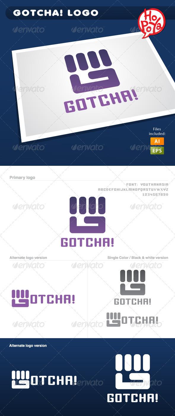 Gotcha! Logo - Letters Logo Templates