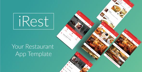 iRest – Nearby Restaurants Template (Templates) Download