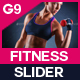 Health And Fitness Slider