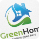 Green Home - Logo Template