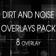 Dirt And Noise Overlays Pack