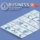 Blue Business Infographics Design