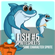 Fish #5 Sprite Character