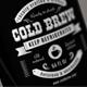 Cold Brew Label