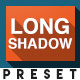 Long Shadow V2 - Adobe After Effects Preset