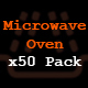 Microwave Oven x50 Pack