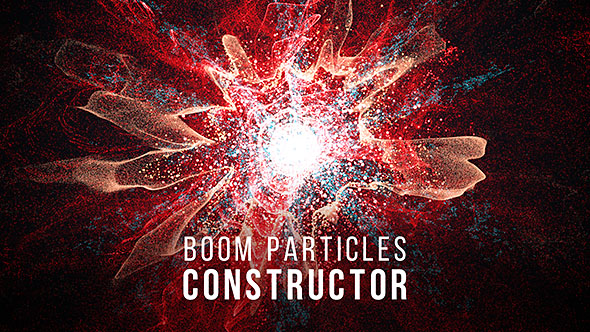 Boom Particles Logo Constructor 2