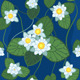 Seamless Blue Pattern of White Lotus  - GraphicRiver Item for Sale