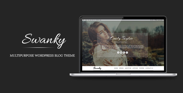 Swanky - Multipurpose WordPress Blog Theme
