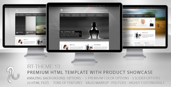 RT-Theme 13 Multi-Purpose Premium HTML Template - Business Corporate
