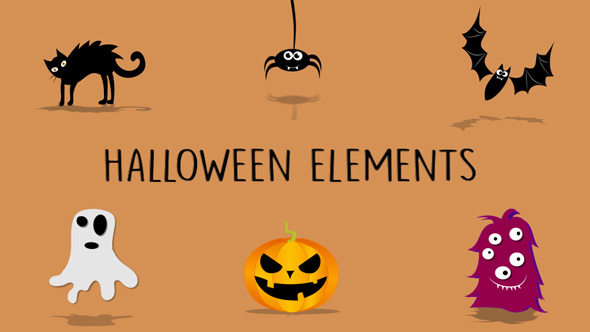 Download Cartoon Elements Halloween Pack nulled download
