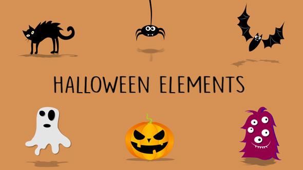 Download Cartoon Elements Halloween Pack nulled download
