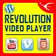 Revolution Video Player With Bottom Playlist WordPress Plugin - YouTube/Vimeo/Self-Hosted Support