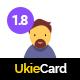 UkieCard - Personal Vcard & Resume HTML Template