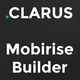 Clarus - Mobirise Responsive Business HTML Site Builder