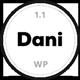 Dani - A Storming Portfolio & Blog WordPress Theme