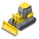 Bulldozer Detailed Icon