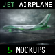 Jet Airplane Mock Up