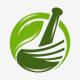 Herbal Bowl Logo Template