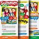Kids Summer Camp Rack Card