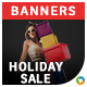Holiday Sale Banners