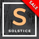 Solstice - Multipurpose Personal WordPress Blog & Magazine Theme