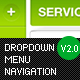 Dropdown Menu Navigation V2 - GraphicRiver Item for Sale