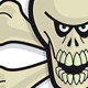 Skull 'n' Bonez - Tan - GraphicRiver Item for Sale
