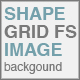 Shape Grid Full Screen Image Background - ActiveDen Item for Sale