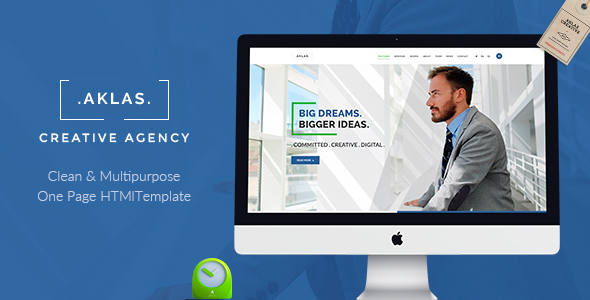 Aklas - Business Creative  HTML