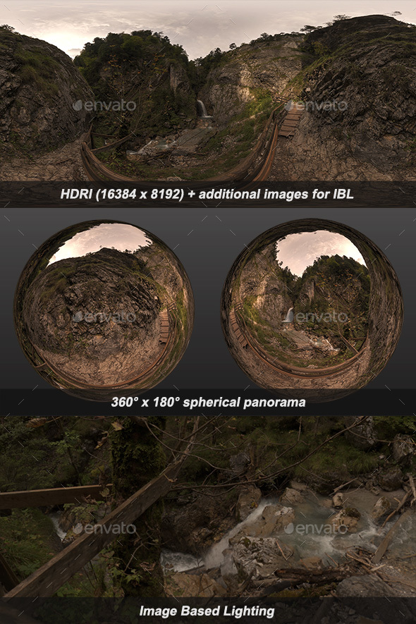 Wolfsklamm V HDRI - 3DOcean Item for Sale