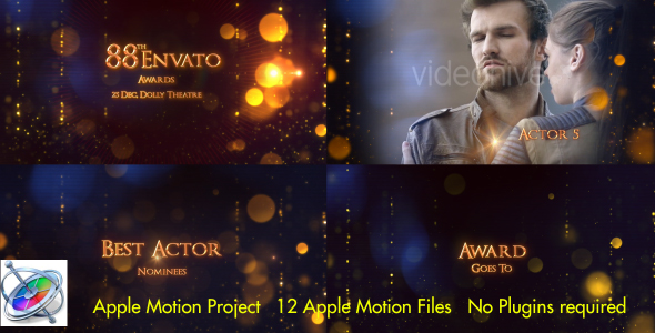 Award Show - Apple Motion