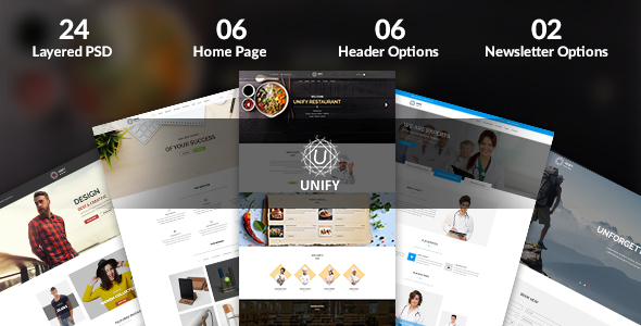 Unify - Multipurpose PSD Template