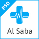 Al-Saba Health and Medical PSD Template