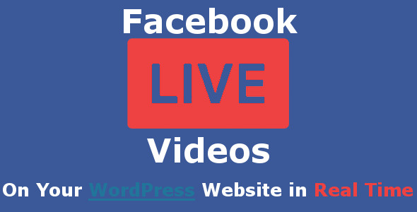 Facebook Live Video Auto Embed