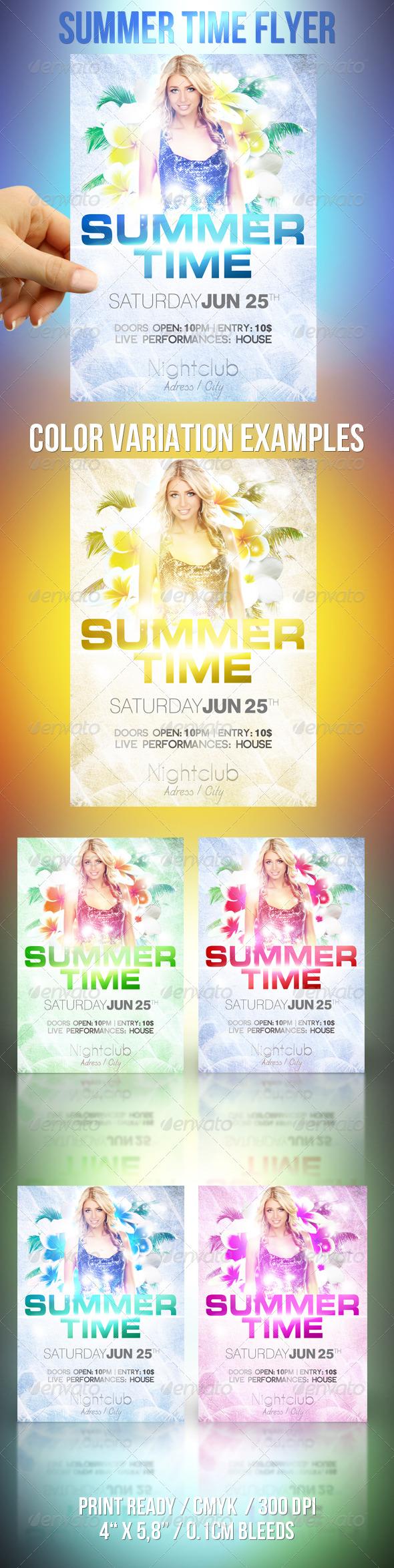 Summer Time Flyer