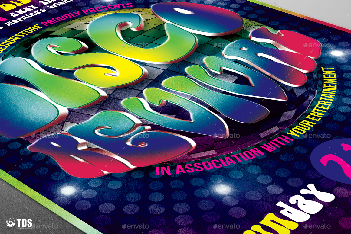 disco revival flyer template v by lou graphicriver revival flyer template v3 jpg