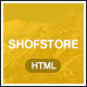Shofstore - eCommerce HTML5 template