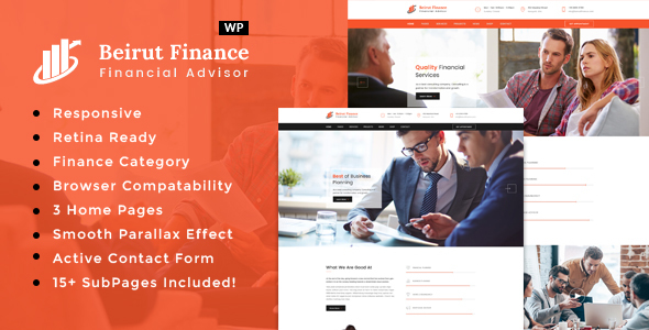 Download Beirut : Business, Finance and Consultancy WordPress Theme nulled download