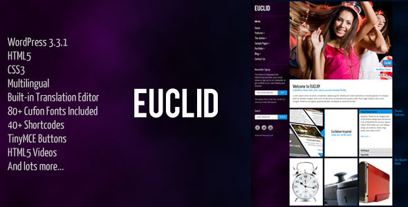 Euclid WordPress Theme