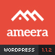 Ameera - Clean and Minimal WordPress Blogging Theme
