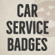 Car Service Badges & Elements